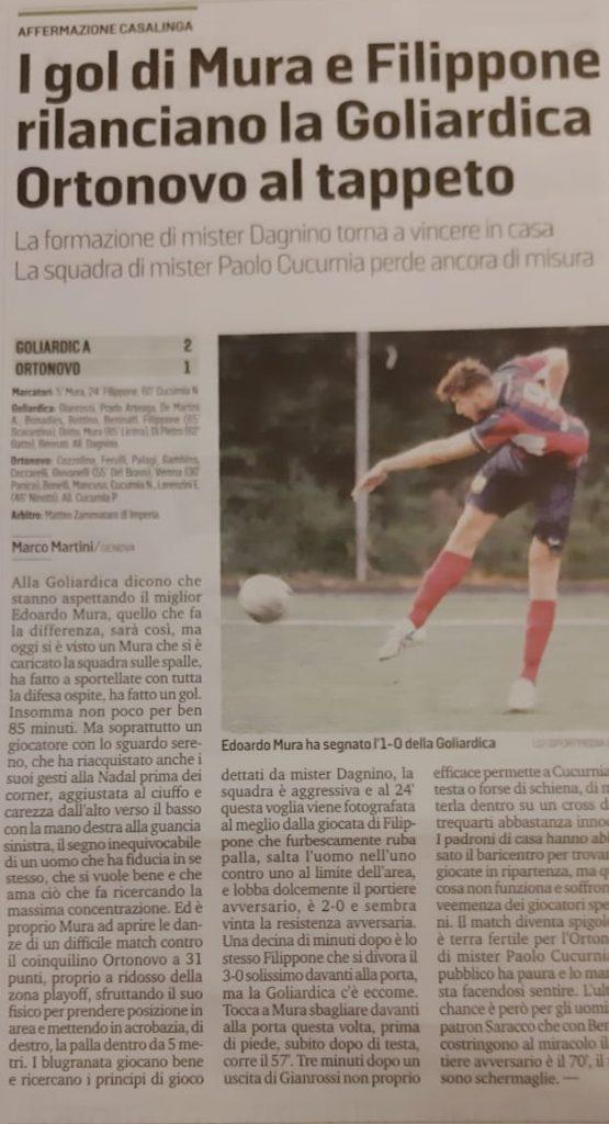 Secolo XIX , Promozione, 10/02/2020