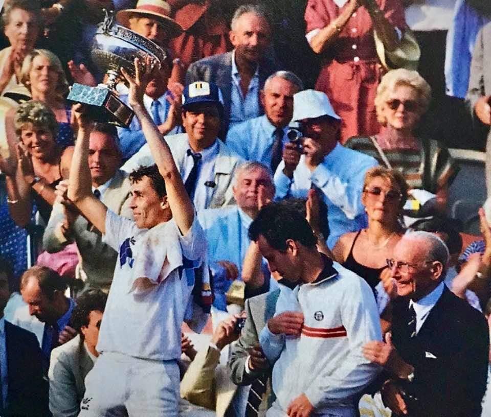 Mc Enroe – Lendl Parigi 1984 gli incontri di tennis che hanno scritto la storia