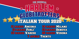 Calcio ancora fermo?                         Harlem Globe Trotters, why not?