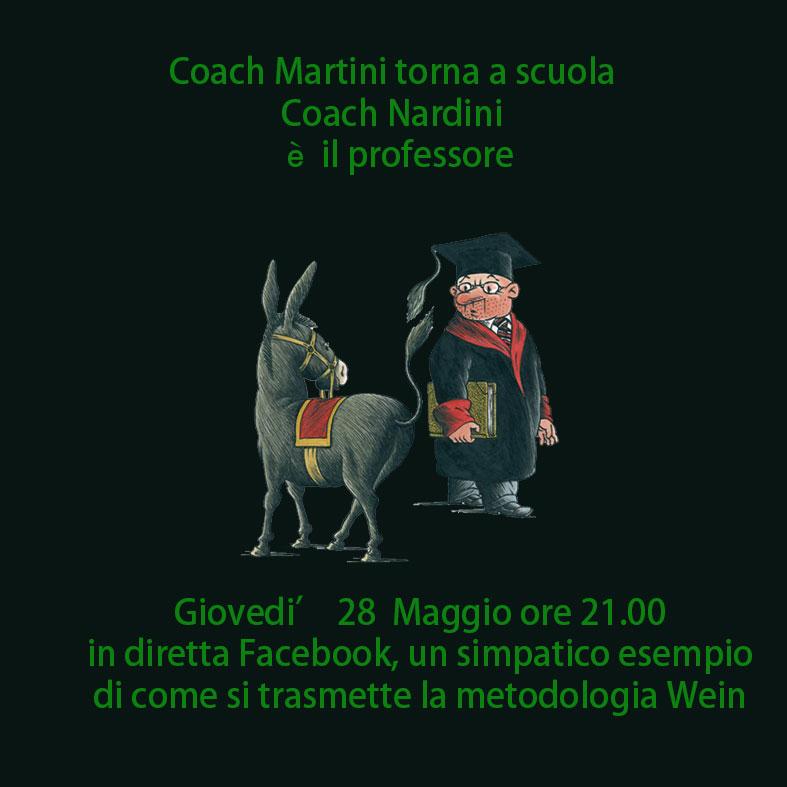 Coach Martini a scuola…
