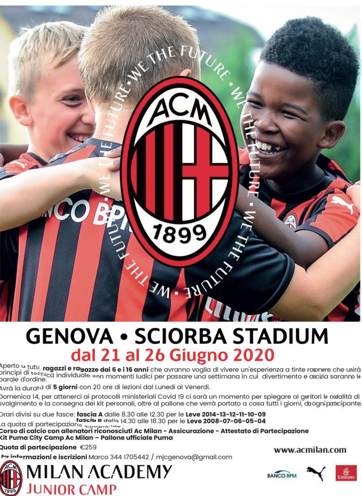 Milan Camp a Genova
