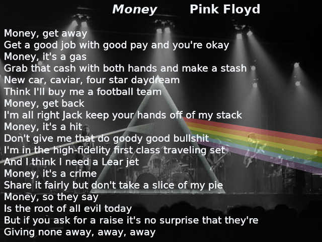 Money, Pink Floyd