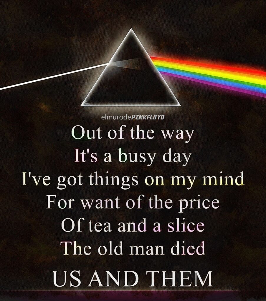 Pink Floyd: Us and Them
