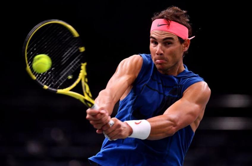 Rafael Nadal e la sua presa sulla racchetta