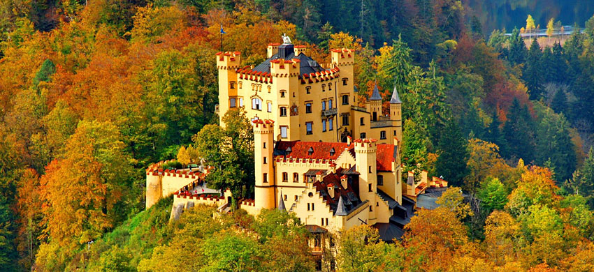 Castello di Hohenschwangau, Germania