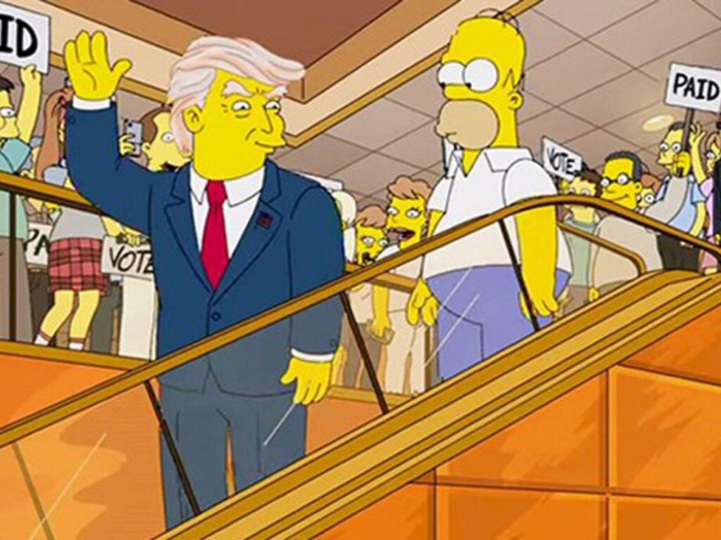 Dentro la sfera magica dei Simpson
