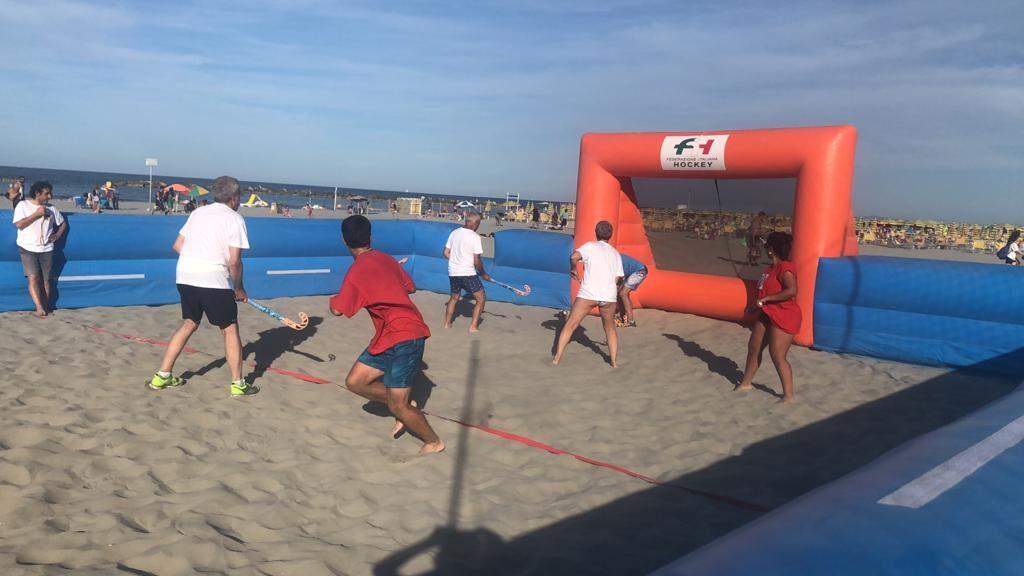 Genova capitale del Beach-Hockey